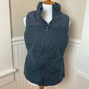 Prana Vest - Full Zip -  Padded - washed black